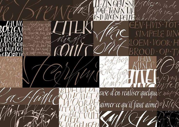 Pure Lettering Yves Leterme Calligraphy Pinterest