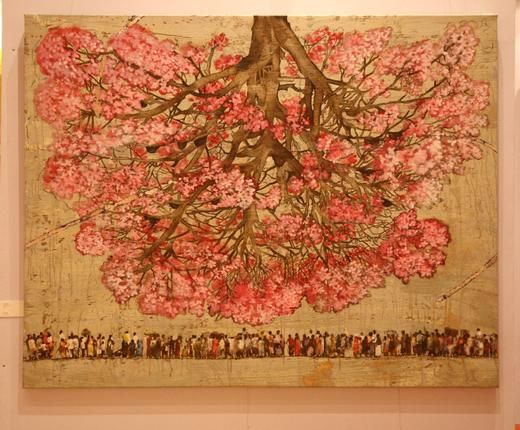 Many Possibilities: People Tree by G.R Iranna