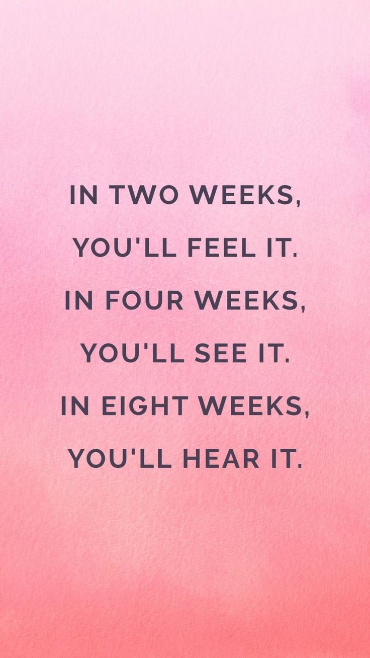 Needed this reminder today. I'm at week 2 and feeling it, but was discouraged I'm not seeing more. Dumb!! I feel it so I…