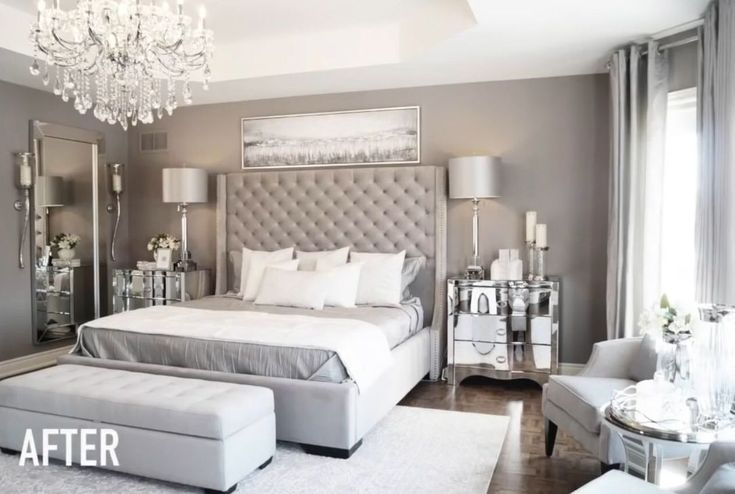 50 Gorgeous Romantic Master Bedroom Will Dreaming Bedroom Dreaming Gorgeous Master Romantic Master Bedrooms Decor Bedroom Design Elegant Master Bedroom