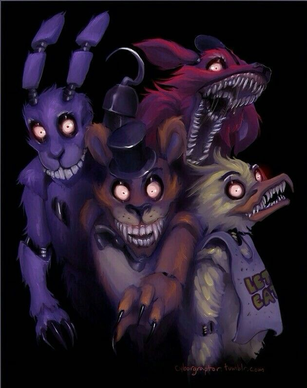 OMG, Five Nights at Freddy's Horror game! I'm Too Scared To watch the YouTubers Play It!