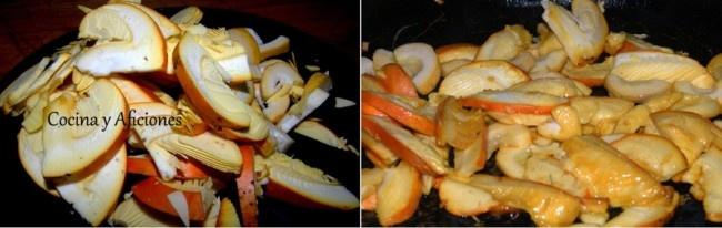 """--- Amanitas, puré de patata y flor de huevo, receta paso a paso.    Esta es mi primera propuesta navideña, un primero diferente y exquisito. A mí me apasiona y no es un plato complicado pero si es todo un lujo. Yo lo he realizado con amanitas pero puedes cambiar la seta a tu gusto o al gusto del mercado y de la temporada.  Con está receta voy a participar en el """" Concurso de recetas Navideñas de Lazy Blog"""""""