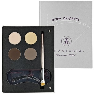 Anastasia Eyebrow kit. I own this and love it. The stencils are really nice