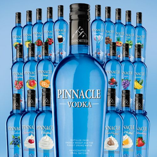 Pinnacle Vodka (use these flavored vodkas in your vodka pie crust recipes)