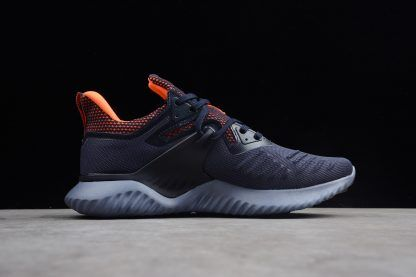 new concept 8c761 3afe3 Mens adidas Alphabounce Beyond 2 M Navy Blue Orange-5