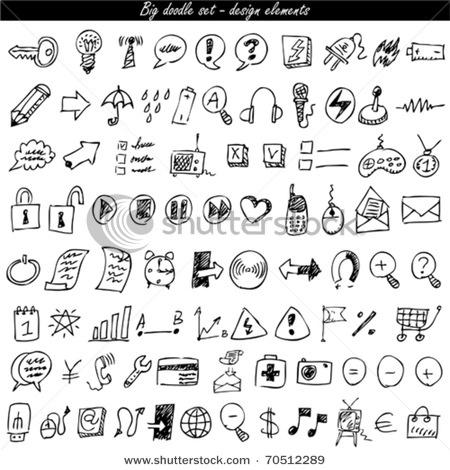 Doodling - symbols
