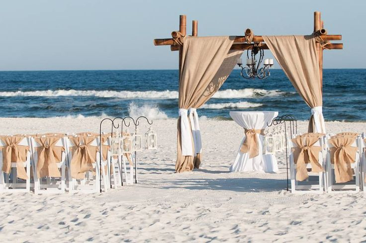 25 Best Ideas About Beach Wedding Setup On Pinterest