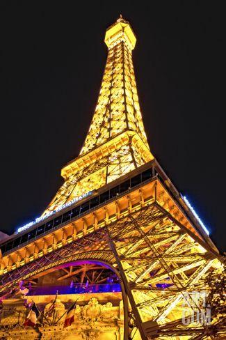 Eiffel Tower - Las Vegas - Nevada - United States Photographic Print by Philippe Hugonnard at Art.com