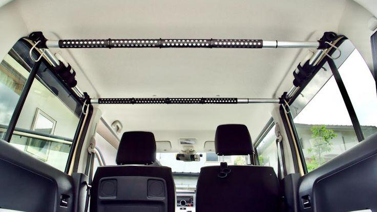 スズキ ハスラー クレトム インテリア バーで天井収納スペースをつくる Life With Photo インテリア バー 天井収納 バー