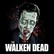 The Walken Dead T-Shirt funny 2 things I like Christopher Walken and the Walking Dead. MERGER BITCHES!!!