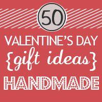 50 + handmade Valentines Day gift tutorials
