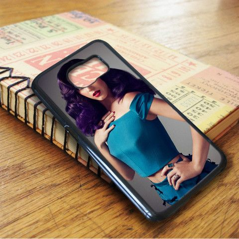 Katty Perry Purple Hair Samsung Galaxy S7 Case