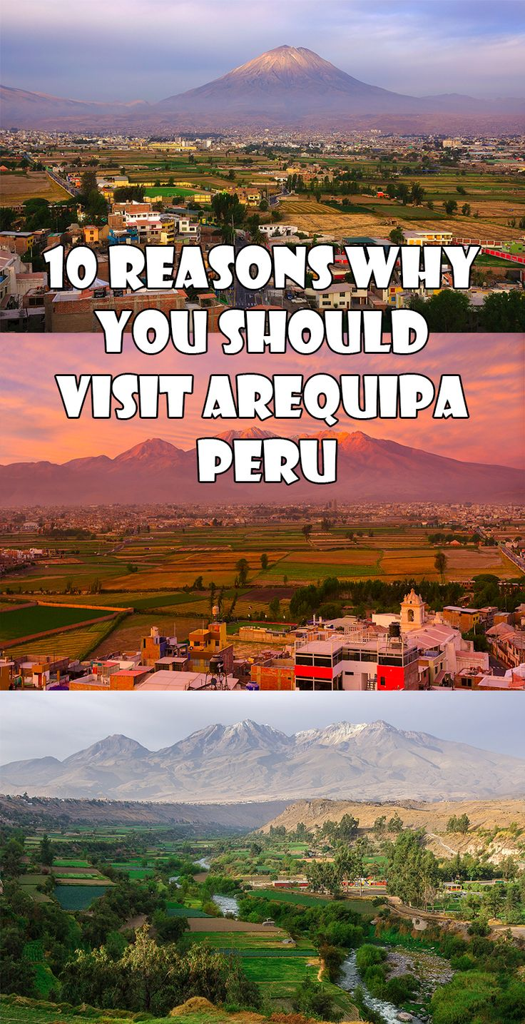 Arequipa Peru. The square and restaurants were great though beware street scams from people selling items.