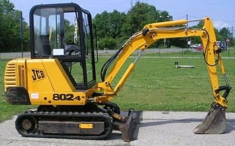 Jcb 802 802.4 802 super Mini Excavator Service Repair Workshop Manual Instant Download