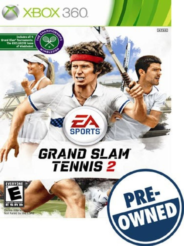 Grand Slam Tennis 2 — PRE-Owned - Xbox 360