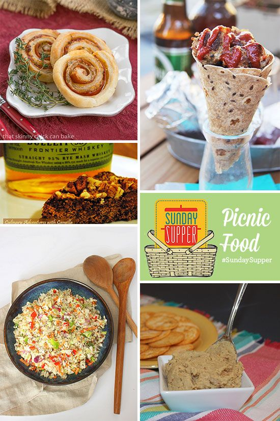 50 New Picnic Food Recipes, plus tips for making picnicking go smoothly! #SundaySupper