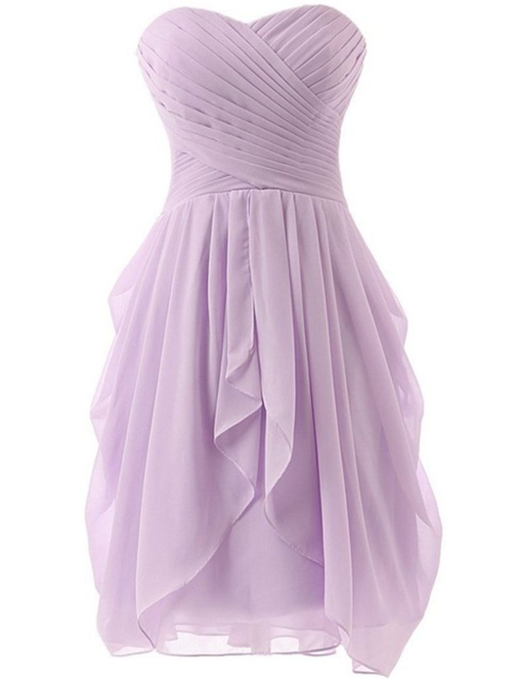 17 best ideas about light purple bridesmaid dresses on for Light purple wedding dress