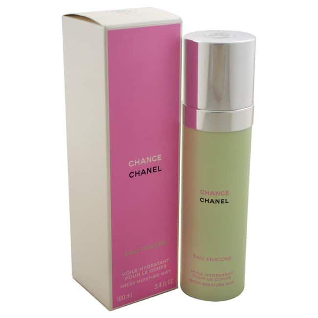 Chanel Chance Eau Fraiche Sheer 3.4-ounce Moisture