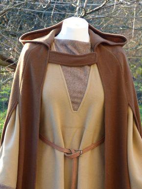 Completo invierno para mujer de inspiración traje de vikingo