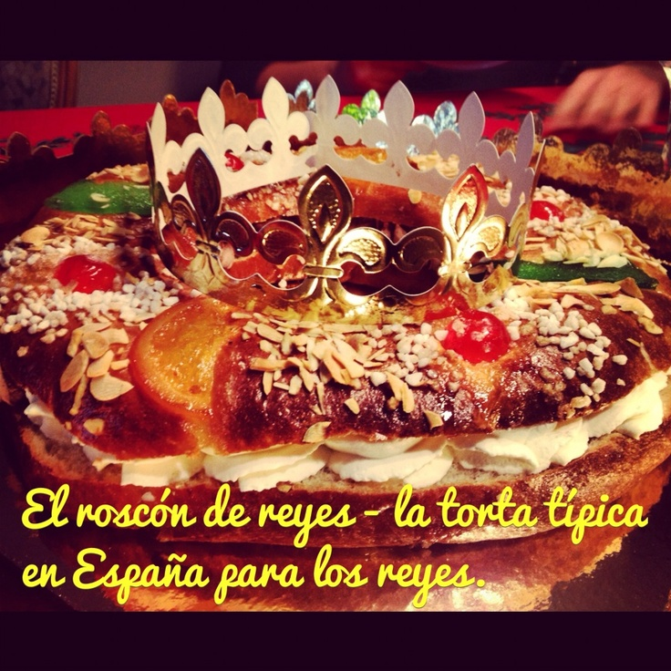 The 'King's ring' - The typical cake in Spain for 'Los Reyes', Epiphany in English.