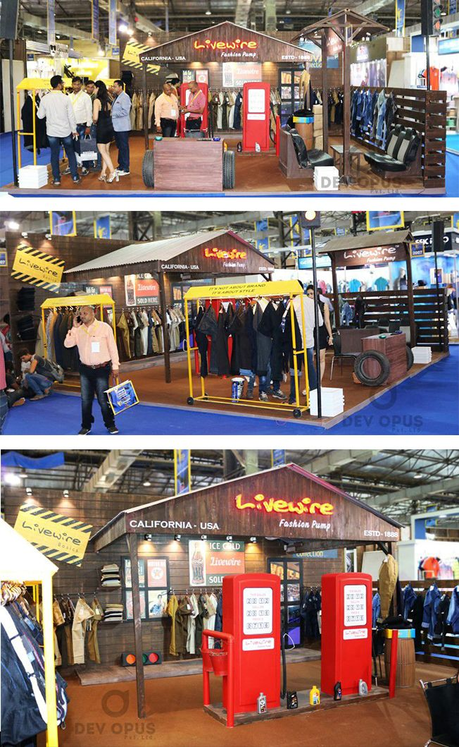 Exhibition Stall Design For Garments : Best ideas about exhibition stall on pinterest