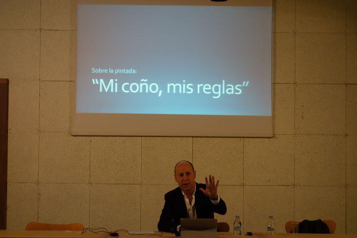 """Dejarse Hablar (18-01-2018)""""Sobre la pintada: """"Mi coño. Mis reglas"""". introducción del debate, José Manuel Nieto."""