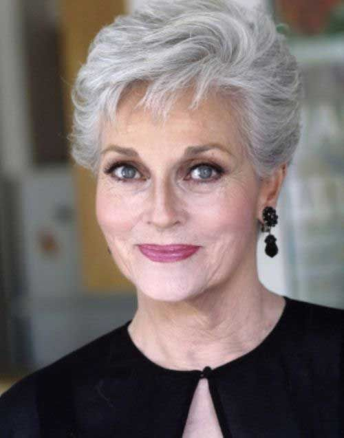 60 Short Hairstyles For Women Over 60 With Fine Hair