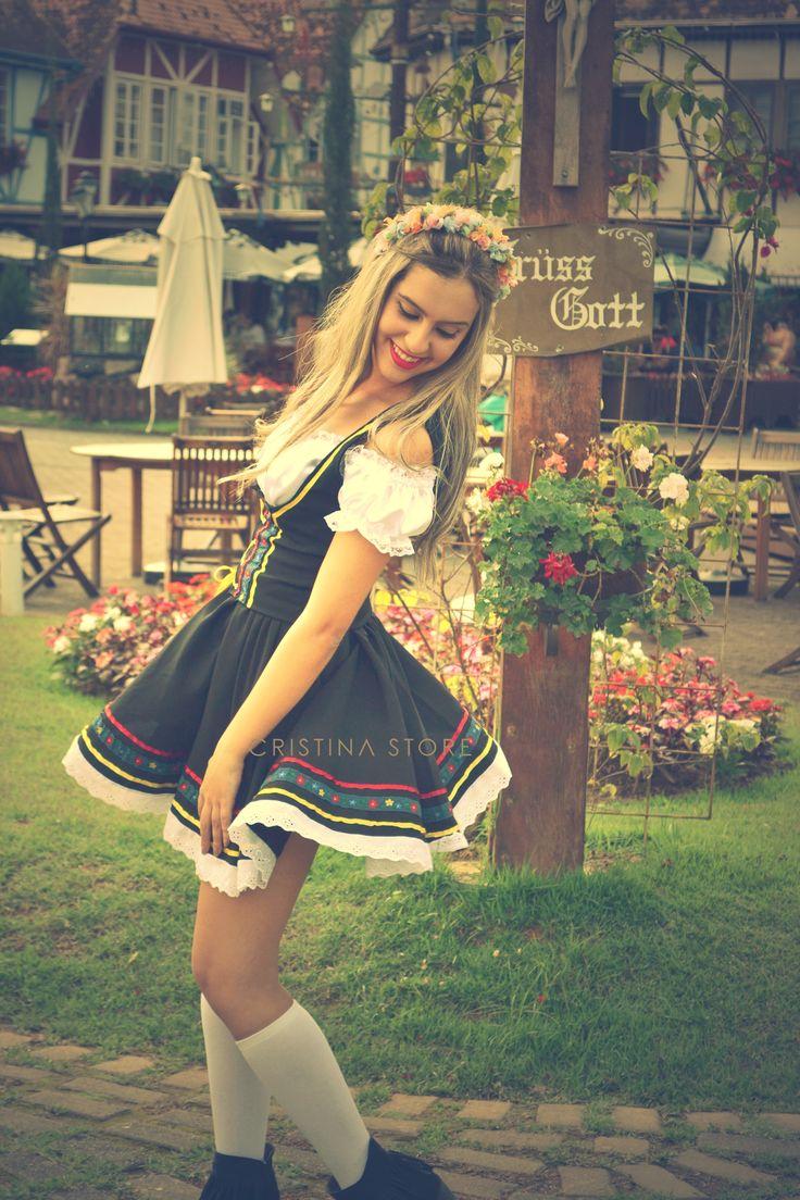 Trajes pra Okotberfest no site www.lojacristinastore.com.br pelo melhor preço!