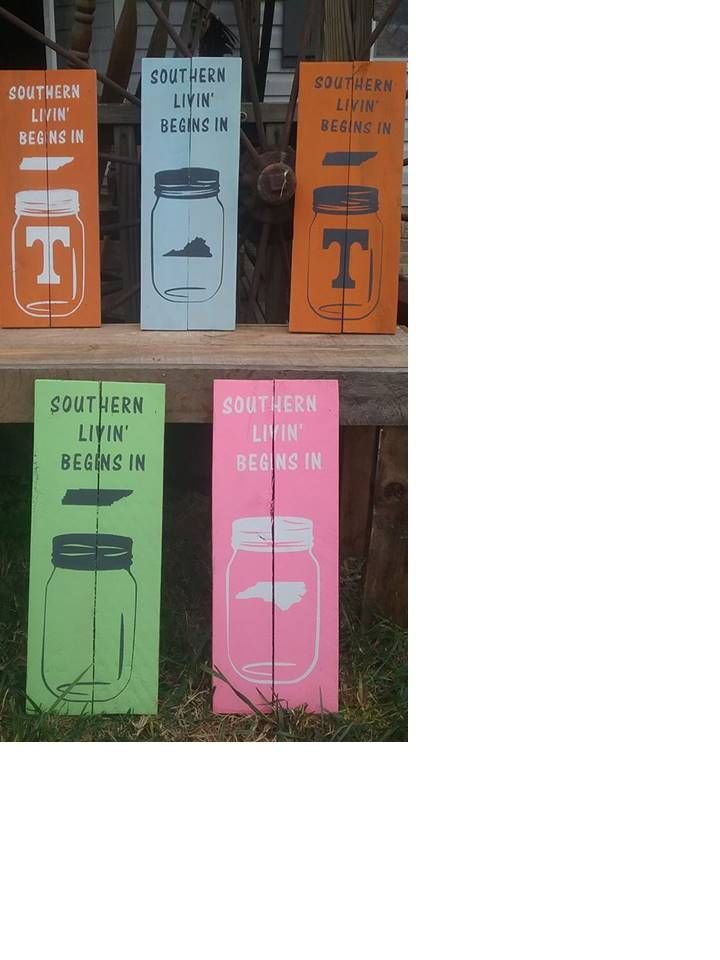 Wooden Sports Sign Available in all sports teams and colors.  Specializing in the new southern color scheme.  These signs make a great Christmas gift for your favorite sports lover.  13.00 plus shipping.
