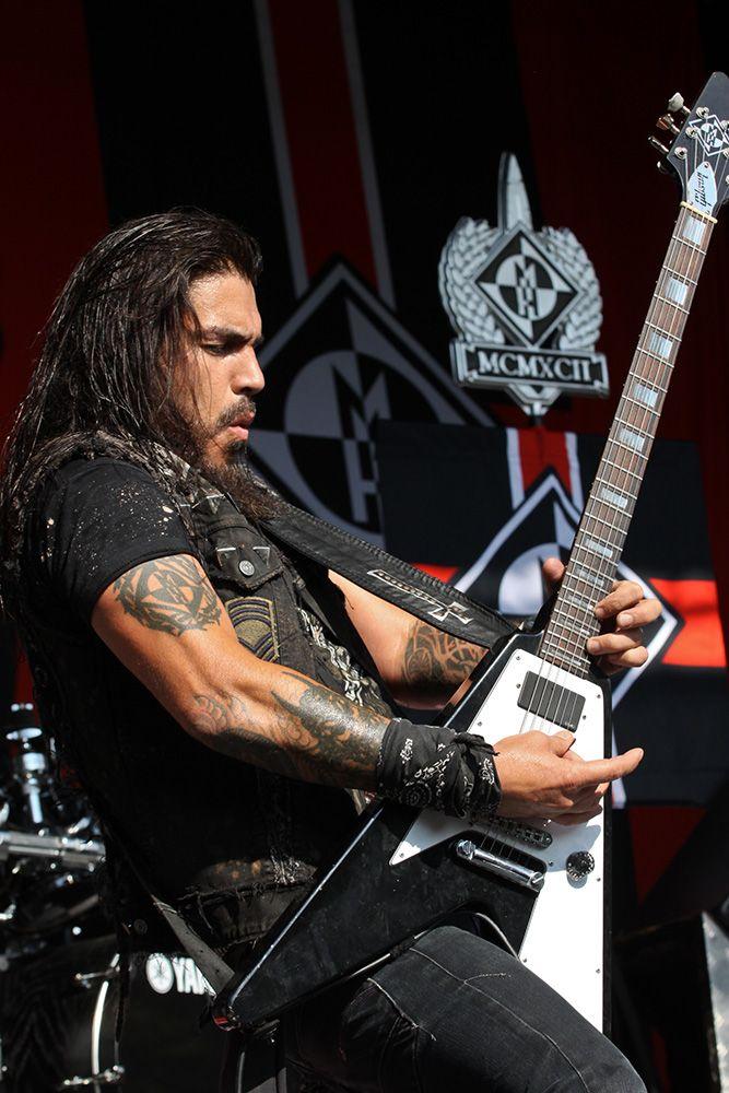 Robb Flynn ~ Machine Head at Mayhem Festival, Colorado July 2013