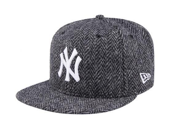 627291195f234 New York Yankees Harris Tweed 59Fifty Fitted Baseball Cap by NEW ERA x MLB