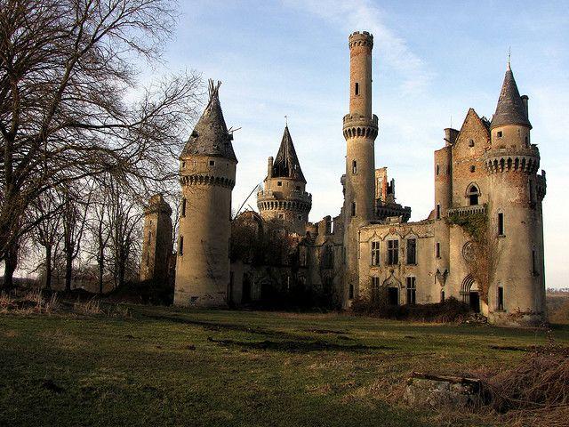 Château De Bagnac ~ an abandoned castle in France