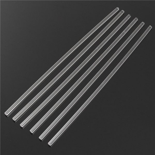 Barra Solida Transparente De La Barra Redonda De Acrilico Transparente De 6pcs 300 6m M Acrylic Rod Acrylic Transparent