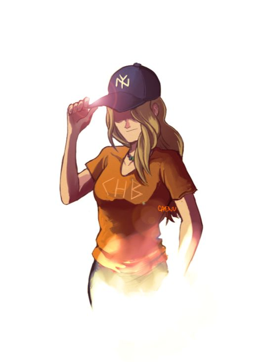 That heartbreaking moment when the cap doesn't turn her invisible.   mark of Athena