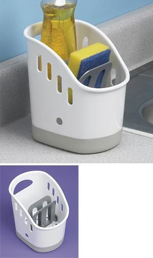 kitchen sink caddy for the home pinterest