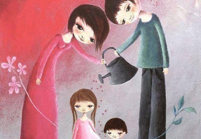 """Les 15 principes de María Montessori pour éduquer des enfants heureux. """"Aide-moi…"""