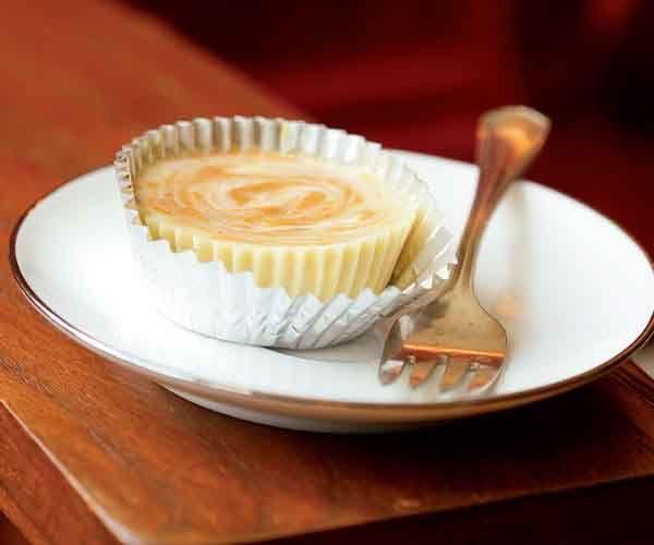 Pumpkin Swirl Cheesecakes | Recipe