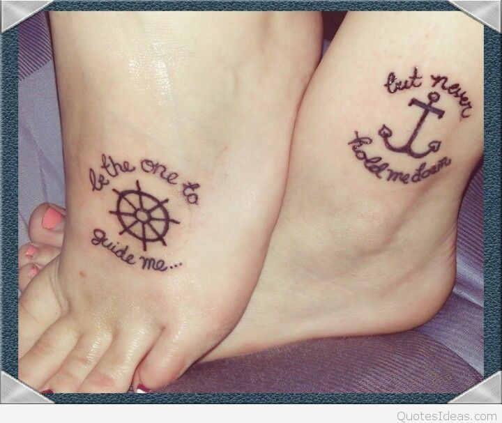 Tattoo Quotes For Friends: 78+ Friendship Tattoo Quotes On Pinterest