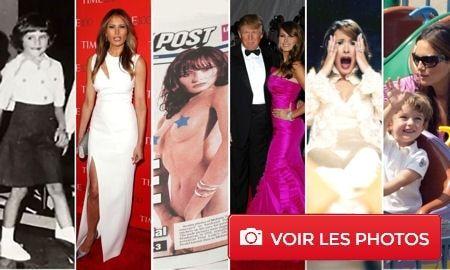 Melania Trump  - Ancien mannequin à la plastique de rêve, la femme de Donald Trump va aujourd'hui devoir faire preuve d'une grande exemplarité pour tenter de remplacer Michelle Obama dans le cœur des Américains.