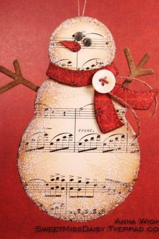 Snowman craft: