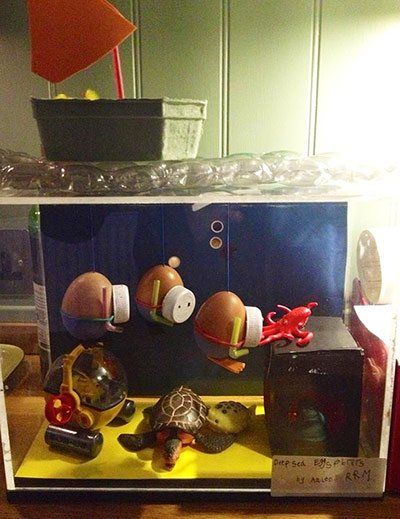 Easter eggs: Deep sea explorers