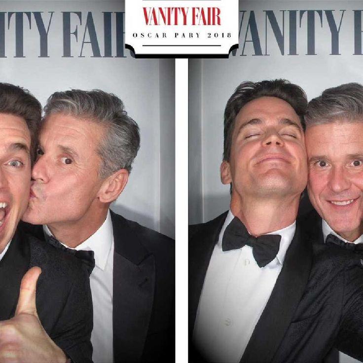 Matt Bomer and Simon Halls at the Vanity fair Oscar party 2018 ❤❤