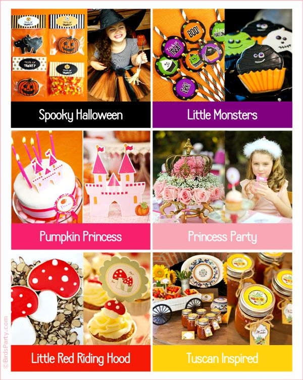 Got a Last Minute Party to Plan? These printables will help!! :) by Bird's Party #party #printables #partyideas #lastminuteparty #shop: Parties Printable, Printable Partyidea, Party Printables