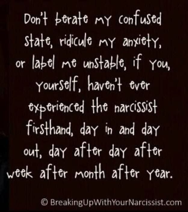surviving a relationship with narcissist