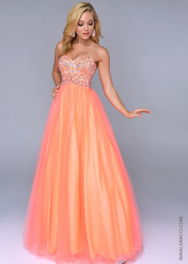 17 Best ideas about Orange Prom Dresses on Pinterest | Orange ...