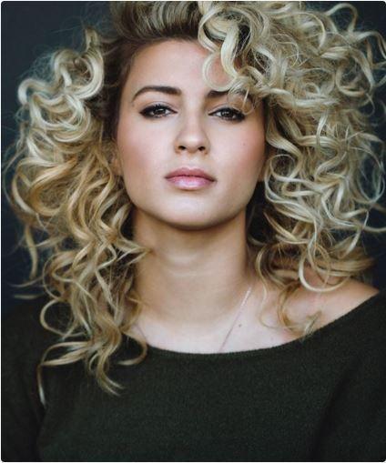 curly hair below shoulders