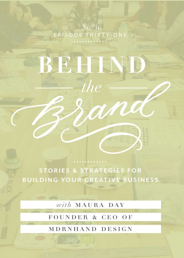 Are you brand's foundations in place? This episode is with Maura Day, founder of design studio MDRNHAND who is also a surface designer at Crate & Barrel. We're going behind-the-scenes into how she started to create her own company, as well as into details about what it's like to be a smaller part of a …