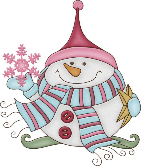 401 best beautiful christmas images on pinterest christmas illustration beautiful christmas - Clipart bonhomme de neige ...