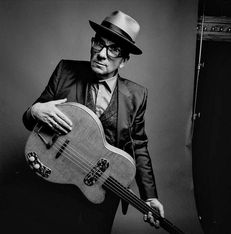 Elvis Costello - born Declan Patrick MacManus (1954) - English singer-songwriter. Photo by Danny Clinch