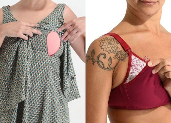 Para sair dos modelos básicos de lingerie para mamães, a loja Samba Calcinha investiu na boa ideia dos sutiãs de amamentação.